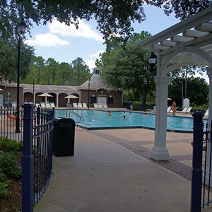 5 of 8: Disney's Port Orleans Resort Riverside - Magnolia Bend quiet pools