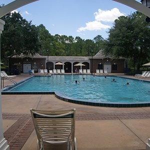 6 of 8: Disney's Port Orleans Resort Riverside - Magnolia Bend quiet pools