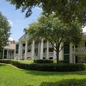 7 of 28: Disney's Port Orleans Resort Riverside - Magnolia Bend grounds and buildings
