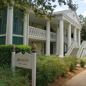 8 of 28: Disney's Port Orleans Resort Riverside - Magnolia Bend grounds and buildings
