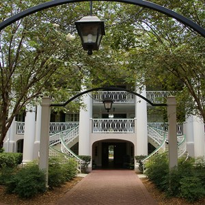 11 of 28: Disney's Port Orleans Resort Riverside - Magnolia Bend grounds and buildings