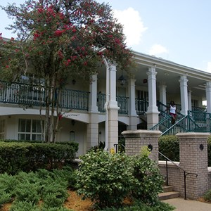 17 of 28: Disney's Port Orleans Resort Riverside - Magnolia Bend grounds and buildings