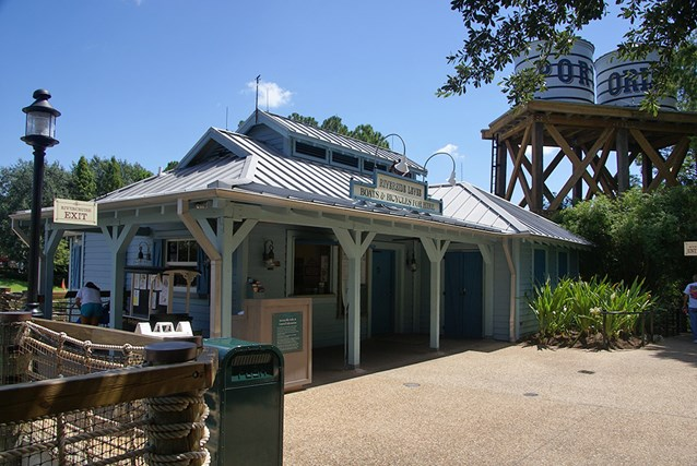 Disney's Port Orleans Resort Riverside - Riverside Levee boat rental