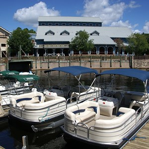 2 of 4: Disney's Port Orleans Resort Riverside - Riverside Levee marina