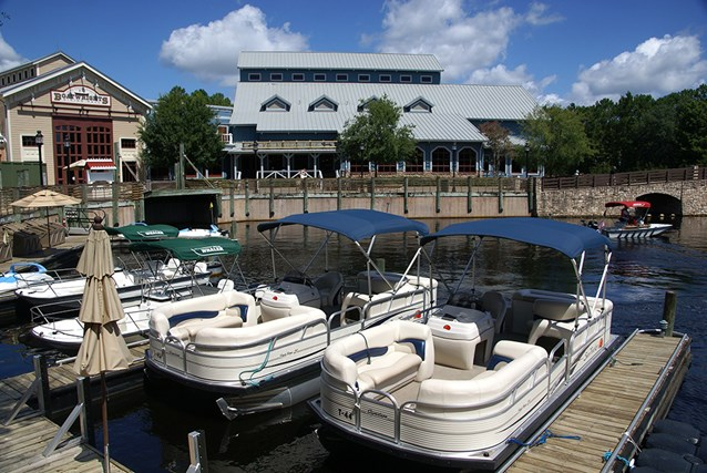 Disney's Port Orleans Resort Riverside - Riverside Levee marina