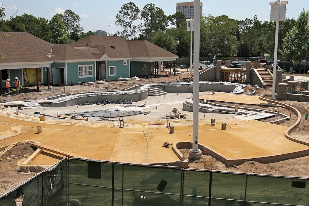 Paddock feature pool construction