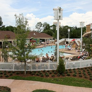1 of 9: Disney's Saratoga Springs Resort - Paddock feature pool complete
