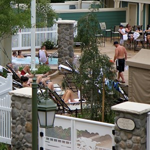 3 of 9: Disney's Saratoga Springs Resort - Paddock feature pool complete