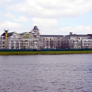 1 of 3: Disney's Saratoga Springs Resort - Saratoga Springs Resort construction update