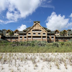 1 of 34: Disney's Vero Beach Resort - Disney's Vero Beach Resort Inn viewed from the beach