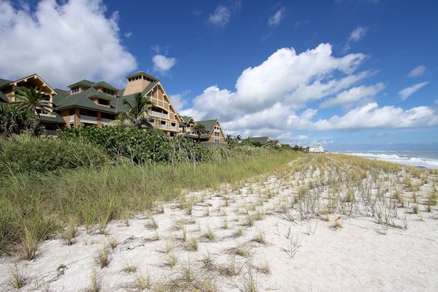 Disney's Vero Beach Resort - The beach in front of the Inn