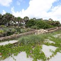 Disney's Vero Beach Resort - The ramp down from the resort to the beach