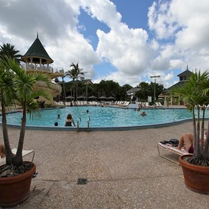 8 of 34: Disney's Vero Beach Resort - Vero Beach Resort Mickey Mouse shaped pool