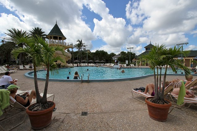 Disney's Vero Beach Resort - Vero Beach Resort Mickey Mouse shaped pool