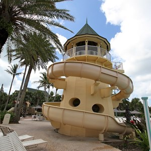 9 of 34: Disney's Vero Beach Resort - The 120ft long pool slide