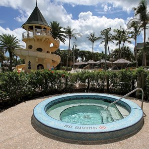 13 of 34: Disney's Vero Beach Resort - The hot tub