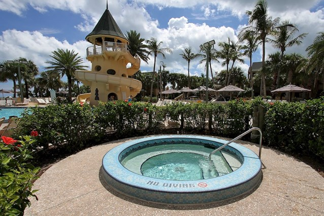 Disney's Vero Beach Resort - The hot tub