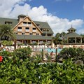 Disney&#39;s Vero Beach Resort - The pool and the Inn