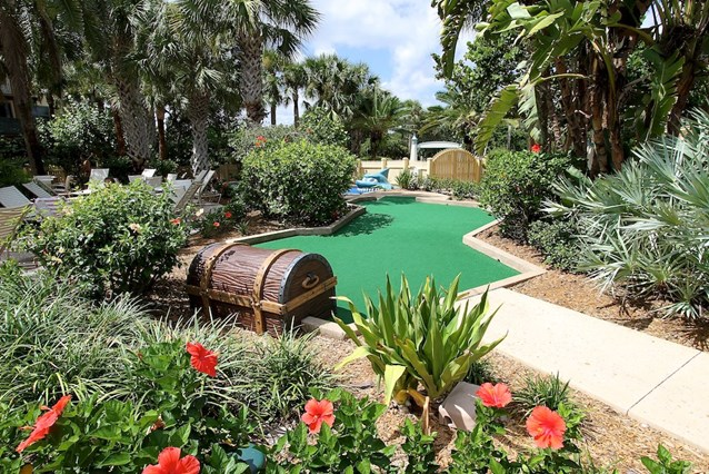 Disney's Vero Beach Resort - The 9 hole mini golf course