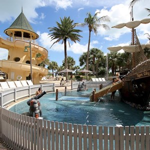 17 of 34: Disney's Vero Beach Resort - The kid's water play area
