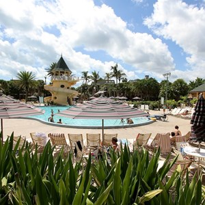 19 of 34: Disney's Vero Beach Resort - Pool area