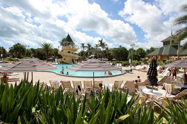 Disney's Vero Beach Resort - Pool area