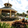 Disney's Vero Beach Resort - Covered seating in the pool area