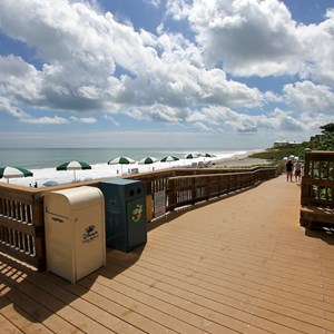 23 of 34: Disney's Vero Beach Resort - Ramp down to the beach