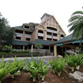 Disney's Vero Beach Resort - The front of the resort