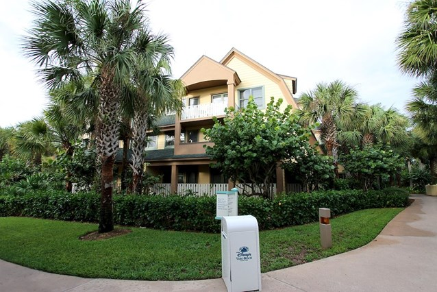 Disney's Vero Beach Resort - One of the vacation home buildings