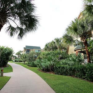 29 of 34: Disney's Vero Beach Resort - The grounds linking the cottages and vacation homes