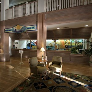 7 of 13: Disney's Vero Beach Resort - Building interior