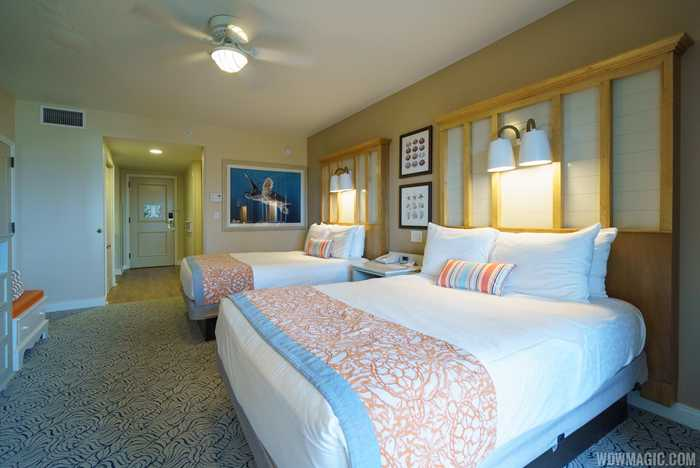 Newly refurbished Ocean View Inn Room at Disney's Vero Beach