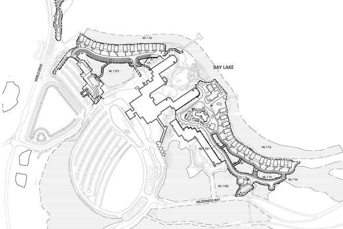Wilderness Lodge Resort DVC Villa plans