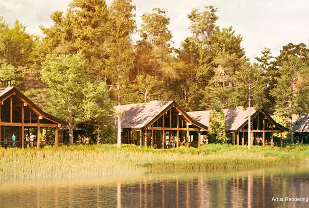 Photos rooms and floor plans at copper creek villas and for Wilderness cabin plans