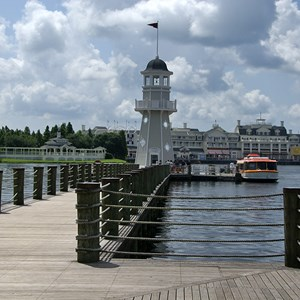 4 of 4: Disney's Yacht Club Resort - Bayside Marina