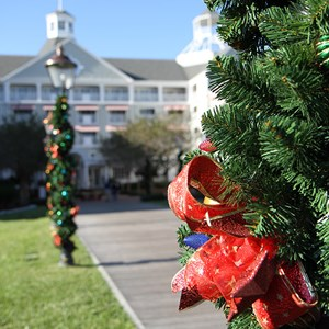 1 of 24: Disney's Yacht Club Resort - Yacht Club Resort holiday decorations 2009