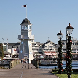 2 of 24: Disney's Yacht Club Resort - Yacht Club Resort holiday decorations 2009