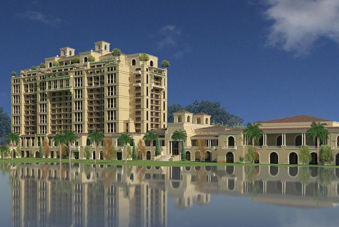 Four Seasons Resort Orlando revised concept art