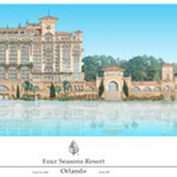 Four Seasons Luxury Resort concept art