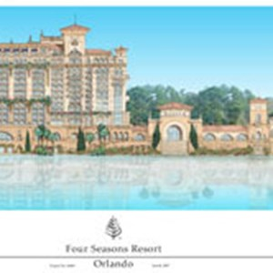 1 of 1: Four Seasons Luxury Resort and Golf Community - Four Seasons Luxury Resort concept art