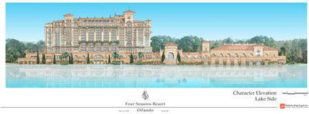Four Seasons Luxury Resort concept art