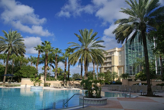 Gaylord Palms Resort - The South Beach pool (Adult pool - 18+) - a great idea!