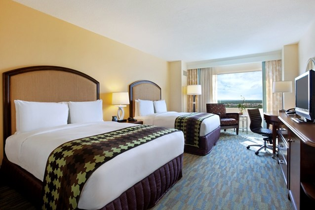 Hilton Orlando Bonnet Creek - Double guest room