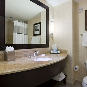 4 of 15: Hilton Orlando Bonnet Creek - Guest room bathroom