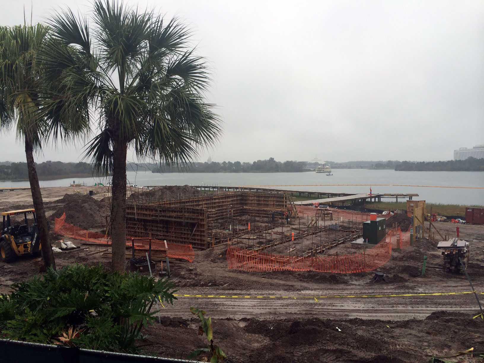 DVC Villas at Disney's Polynesian Resort construction