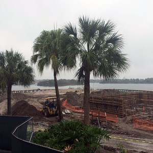 2 of 5: The Villas at Disney's Polynesian Resort - Polynesian Resort DVC construction