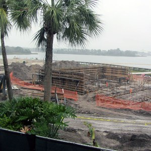 3 of 5: Disney's Polynesian Villas and Bungalows - Polynesian Resort DVC construction