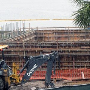 5 of 5: Disney's Polynesian Villas and Bungalows - Polynesian Resort DVC construction