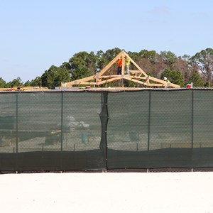 4 of 7: Disney's Polynesian Villas and Bungalows - Polynesian Resort DVC Villas construction
